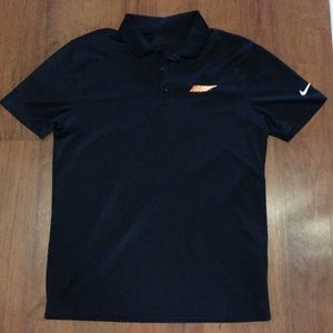 Black university of Tennessee Nike Golf Polo